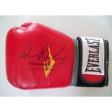Iran 'The Blade' Barkley Signed Everlast Boxing Glove