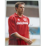 Gareth Southgate 12x16 Signed Middlesbrough Photograph