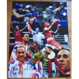 James Degale 12x16 Signed Montage Boxing Photograph