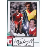 Alan Kennedy 8x12 Signed Liverpool Photograph