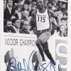 Linford Christie Olympic Champion Signed 8x10 Photograph