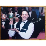 Ronnie O'Sullivan 12x16 Signed Snooker Photograph