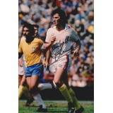 Gerry Francis Signed England Photograph