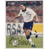 Paul Merson Signed 8x10 England Photograph