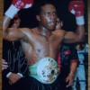 Nigel Benn  Signed 12x16 Awesome Boxing Photograph (At a private signing)