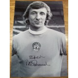 Mike Summerbee Signed 8x12 Man City Photo!