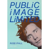 Johnny Rotten RARE Signed 8x10 Public Image Ltd RiSE/FALL Book