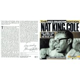 Benny Carter RARE Signed Nat King Cole CD Inlay Card