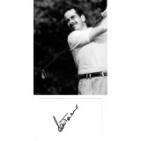 Sam Torrance  Signed Card & 7x8 Golf Photograph