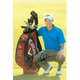 Danny Willett Maters Champion Signed 8x12 Golf Photograph