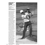 Payne Stewart Signed 8x12 Inch Book Page