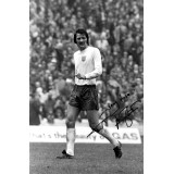 Frank Worthington Signed 8x12 England Photograph