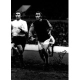 Pop Robson 16x12 Signed West Ham Photograph