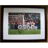 Michael Owen England Signed Framed 8x12 Photograph