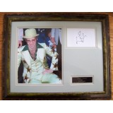 Sir Elton John Signature With Framed  8x10 Photograph