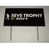 Seve Ballesteros Tournament Used Tee Box Sign From The Seve Trophy 2013