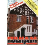 George Best Signed 1992 Fulham v Sheffield Wednesdays Programme