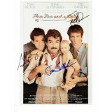 Three Men and A Baby  8X10 Photo Signed by Tom Selleck, Steve Guttenberg & Ted Danson