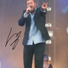 Guy Garvey Signed  Elbow  10 x 8 Inch Photograph
