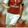 Dennis Bergkamp Signed 4x6 Card & Arsenal 8x12 Photograph
