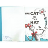 Dr. Seuss Signed 1958  The Cat in the Hat Book Extremely Rare