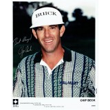 Chip Beck Signed 8x10 Golf Photograph