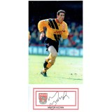 Martin Keown Signed Card & Arsenal 8x12 Photograph