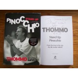 Phil Thompson & Ian Callaghan Signed PINOCCHIO Hardback Book