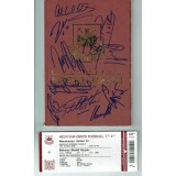 West Ham United FAREWELL BOLEYN Programme Signed By 15 Legends Ex Players Programme & Ticket