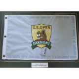 Angel Cabrera Signed 2007 US Open Winner at Oakmont  Mounted Golf Pin Flag
