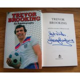 Trevor Brooking Signed An Autobiography Hardback Book