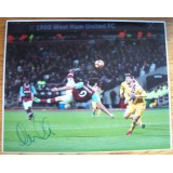 Andy Carroll Goal of Season Signed West Ham v Palace 16x20 Photograph