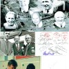 Manchester Utd Managers Autographs Inc Very Rare Jimmy Murphy &  8x12 Photograph