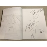Michael Schumacher, Rubens Barrichello, Jean Todt &n Ross Brawn Signed 2005 Ferrari Yearbook