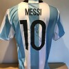 Lionel Messi Signed Replica Argentina Home Shirt