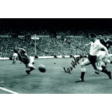 Cliff Jones Signed 8x12 Spurs 1960s Photograph
