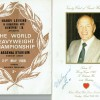 Muhammad Ali & Henry Cooper Dual Signed 50th Birthday  Program & Ali Cooper Fight Program