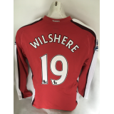 Jack Wilshere Arsenal Match Worn 2009/10 Season Home Football Shirt