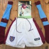 Tony Cottee West Ham Match Worn Shorts, Socks & Signed Photograph