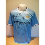 Manchester City 2011/12 Season Signed Replica Shirt