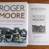 Roger Moore Signed Limited Edition Hardback Book 'Last Man Standing'