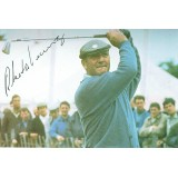Roberto De Vincenzo  Signed Post Card British Open Champion in 1967 at Hoylake