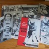Mixed Signed Magazine & Programme Sheets From The 1960's Cheap Lot