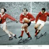Welsh Rugby Legends 12x16 Photograph Signed By  J.P.R. Williams, Gareth Edwards & Phil Bennett