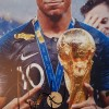 Kylian Mbappe Signed 8x12 France 2018 World Cup Winner Photograph