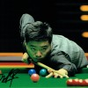 Ding Junhui Signed Snooker 8x12 Photograph