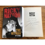 Ricky Hatton Signed Hardback Book THE HITMAN MY STORY