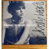 Primal Scream Bobby Gillespie Signed 7 Single Velocity Girl