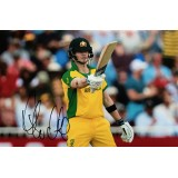 Steve Smith Signed 8x12 Australia Cricket Photograph