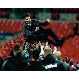 Michael Laudrup League Cup Signed 8x10 Photo!